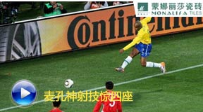 麦孔,南非世界杯,巴西vs朝鲜