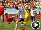 约万诺维奇停球扫射破门 世界杯德国VS塞尔维亚
