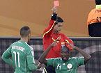 尼日利亚凯塔被红牌罚下