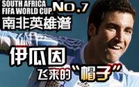 伊瓜因,南非世界杯