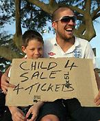 球迷卖子求门票