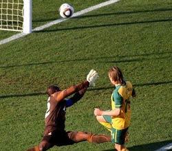南非世界杯,加纳VS澳大利亚,霍尔曼