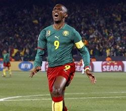南非世界杯,埃托奥