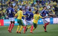 南非世界杯,法国VS南非