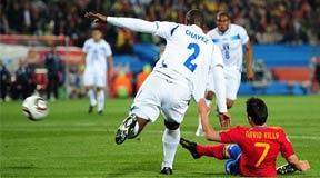 比利亚,世界杯