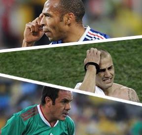 亨利,卡纳瓦罗,布兰科,南非世界杯