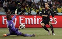南非世界杯,加纳VS德国
