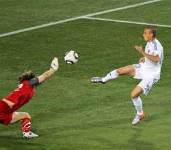 南非世界杯,斯洛伐克VS意大利,科普内克