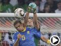 巴西-梅洛(5号)破门得分