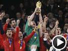 伊涅斯塔加时绝杀10人荷兰 西班牙首夺世界冠军