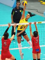 巴西女排,2010世界女排大奖赛总决赛