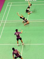 蔡�S,傅海峰,2010羽毛球世锦赛