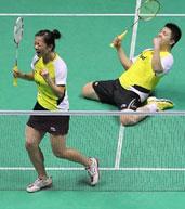 马晋,郑波,2010羽毛球世锦赛