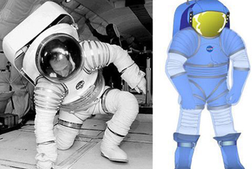 航天服除有舱内航天服的所有各层外还有三层