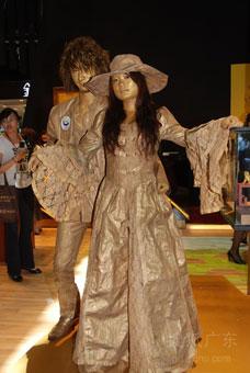 2010年深圳国际珠宝展,美女模特大赏