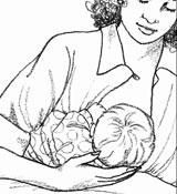 图解母乳喂养正确姿势