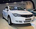 荣威350纯电动车实拍