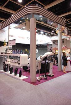 2010年亚太美容展,展馆