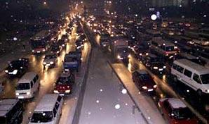 冰雪世纪大堵车