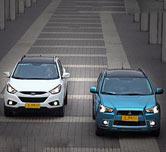 20万SUV新宠 三菱劲炫PK现代ix35性能篇