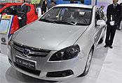 2010广州车展长安CX30三厢图片