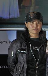 植村秀香港区品牌经理刘雅君,植村秀