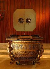 回到2008年 奥运缶绽放酒店大堂