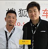 AME品牌海外市场总监中嶋恭一郎、中国地区销售主管李康