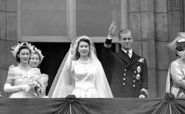 伊丽莎白二世+菲利普亲王