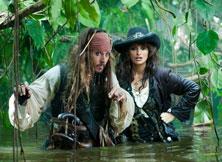 杰克船长与美女克鲁兹的丛林之旅