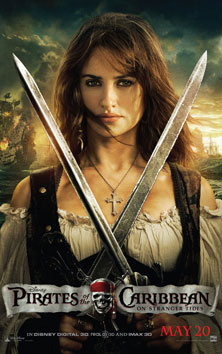 《加勒比海盗4》海报