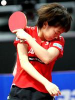石川佳纯,2011世乒赛