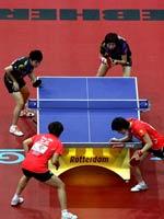 李晓霞,郭跃,2011世乒赛
