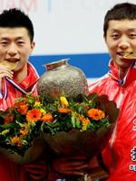 马龙,许昕,2011世乒赛