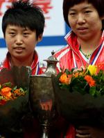 郭跃,李晓霞,2011世乒赛