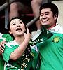 北京球迷工体求婚