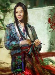 杨门女将人物海报