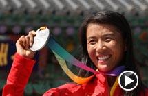 女子20公里竞走刘虹摘得银牌 俄罗斯名将三连冠