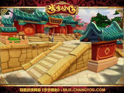 碧瓦红墙金砖,每一个游戏场景和建筑都做到100%细节还原