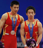 张成龙,邹凯,体操世锦赛
