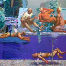嘉兰德俄罗斯艺术画廊 生出翅膀的时候
