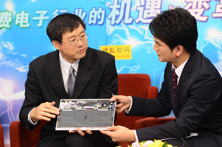 华硕电脑全球副总裁许先越先生