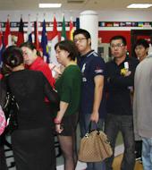 上海第35届世界名校招生展现场