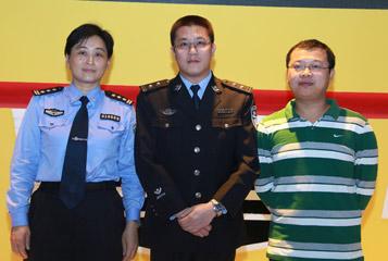 安全驾驶广州体验活动 搜狐汽车展台启动