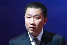 姚刚,证监会副主席,第十届中国证券投资基金国际论坛