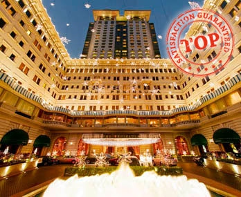 最有圣诞气氛:香港半岛酒店