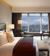 在香港最高点看海景