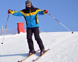 市区内的户外滑雪场 万龙八易享夜间滑雪的激情
