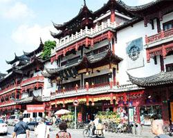 红红火火过大年 老街里品味老上海的年味