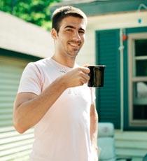 美国人叹咖啡
